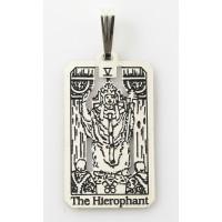 The Hierophant Small Tarot Pendant