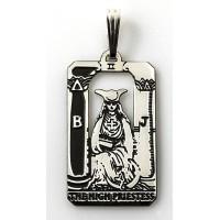 The High Priestess Small Tarot Pendant