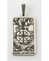 Wheel of Fortune Small Tarot Pendant All Wicca Store Magickal Supplies Wiccan Supplies, Wicca Books, Pagan Jewelry, Altar Statues