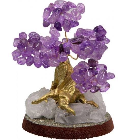 Amethyst Gemstone Wishing Tree at All Wicca Store Magickal Supplies, Wiccan Supplies, Wicca Books, Pagan Jewelry, Altar Statues