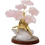 Rose Quartz Gemstone Wishing Tree