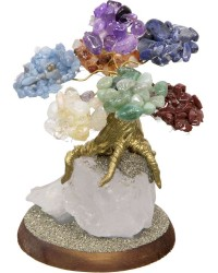 7 Chakras Gemstone Wishing Tree All Wicca Store Magickal Supplies Wiccan Supplies, Wicca Books, Pagan Jewelry, Altar Statues