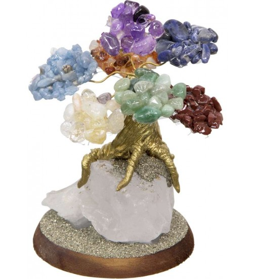 7 Chakras Gemstone Wishing Tree at All Wicca Store Magickal Supplies, Wiccan Supplies, Wicca Books, Pagan Jewelry, Altar Statues