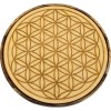 Flower of Life Wood Crystal Grid at All Wicca Store Magickal Supplies, Wiccan Supplies, Wicca Books, Pagan Jewelry, Altar Statues