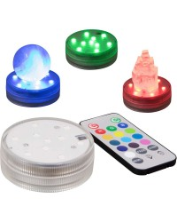 LED Waterproof Light Base with Remote All Wicca Store Magickal Supplies Wiccan Supplies, Wicca Books, Pagan Jewelry, Altar Statues