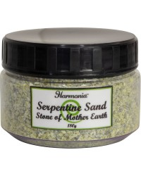 Serpentine Gemstone Sand to Honor Mother Earth