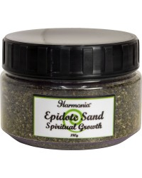 Epidote Gemstone Sand for Spiritual Growth