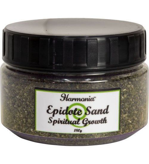 Epidote Gemstone Sand for Spiritual Growth
