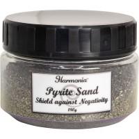 Pyrite Gemstone Sand to Shield Against Negativity & Bring Abundance