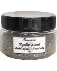 Pyrite Gemstone Sand to Shield Against Negativity & Bring Abundance