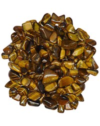 Tiger Eye Tumbled Stones - 1 Pound Bag