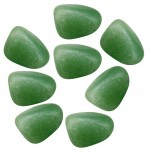 Green Aventurine Tumbled Stones - 1 Pound Bag
