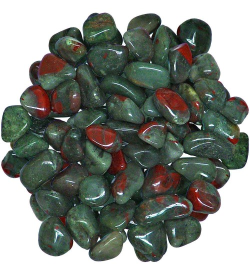 Bloodstone Tumbled Stones - 1 Pound Bag at All Wicca Magickal Supplies, Wiccan Supplies, Wicca Books, Pagan Jewelry, Altar Statues