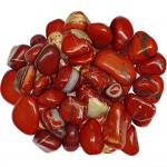 Red Jasper Tumbled Stones - 1 Pound Bag