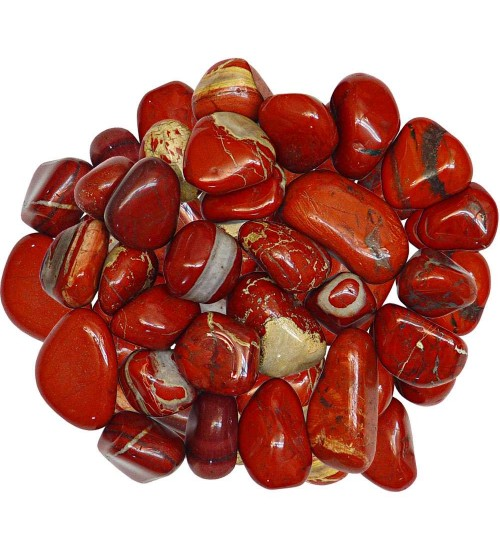 Red Jasper Tumbled Stones - 1 Pound Bag at All Wicca Store Magickal Supplies, Wiccan Supplies, Wicca Books, Pagan Jewelry, Altar Statues