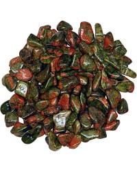 Unakite Tumbled Stones - 1 Pound Bag All Wicca Store Magickal Supplies Wiccan Supplies, Wicca Books, Pagan Jewelry, Altar Statues