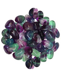 Fluorite Tumbled Stones - 1 Pound Bag All Wicca Magickal Supplies Wiccan Supplies, Wicca Books, Pagan Jewelry, Altar Statues