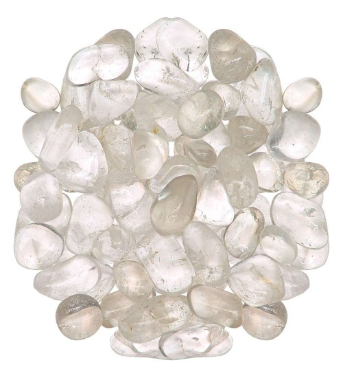 Clear Quartz Tumbled Stones - 1 Pound Bag at All Wicca Store Magickal Supplies, Wiccan Supplies, Wicca Books, Pagan Jewelry, Altar Statues