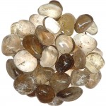 Smoky Quartz Tumbled Stones - 1 Pound Bag