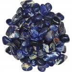 Sodalite Tumbled Stones - 1 Pound Bag