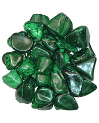 Malachite Tumbled Stones - 1 Pound Pack All Wicca Store Magickal Supplies Wiccan Supplies, Wicca Books, Pagan Jewelry, Altar Statues