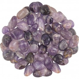 Amethyst Tumbled Stones - 1 Pound Pack