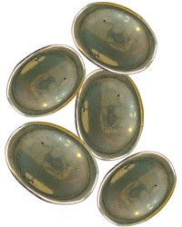 Pyrite Worry Stone All Wicca Magickal Supplies Wiccan Supplies, Wicca Books, Pagan Jewelry, Altar Statues