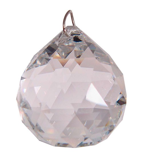 Crystal Prism Faceted Sphere at All Wicca Store Magickal Supplies, Wiccan Supplies, Wicca Books, Pagan Jewelry, Altar Statues