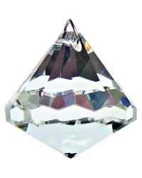 Crystal Prism Faceted Diamond
