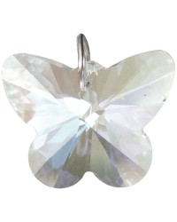 Crystal Prism Faceted Butterfly All Wicca Magickal Supplies Wiccan Supplies, Wicca Books, Pagan Jewelry, Altar Statues
