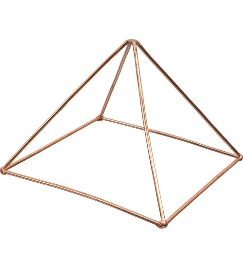 Copper Pyramid Energizer for Power at All Wicca Store Magickal Supplies, Wiccan Supplies, Wicca Books, Pagan Jewelry, Altar Statues