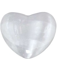 Selenite Heart Stone in 2 Sizes All Wicca Store Magickal Supplies Wiccan Supplies, Wicca Books, Pagan Jewelry, Altar Statues