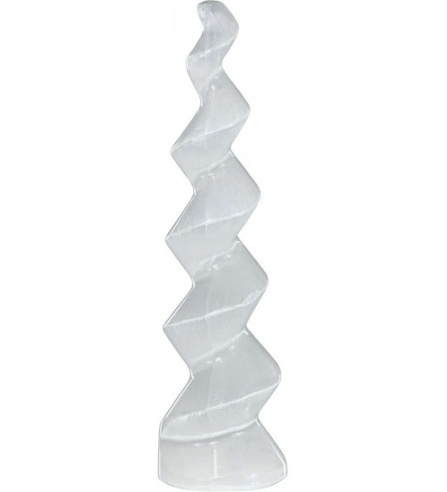 Selenite Twist at All Wicca Store Magickal Supplies, Wiccan Supplies, Wicca Books, Pagan Jewelry, Altar Statues