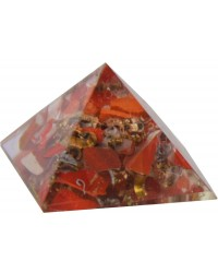 Red Jasper Root Chakra Orgone Pyramid All Wicca Magickal Supplies Wiccan Supplies, Wicca Books, Pagan Jewelry, Altar Statues