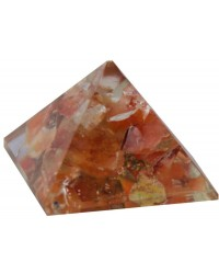 Carnelian Sacral Chakra Orgone Pyramid All Wicca Store Magickal Supplies Wiccan Supplies, Wicca Books, Pagan Jewelry, Altar Statues