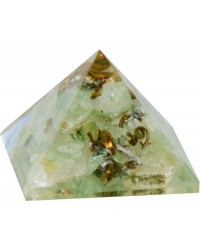 Aventurine Heart Chakra Orgone Pyramid All Wicca Store Magickal Supplies Wiccan Supplies, Wicca Books, Pagan Jewelry, Altar Statues