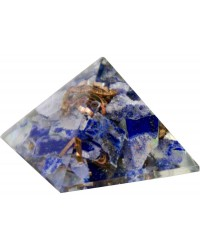 Lapis Third Eye Chakra Orgone Pyramid All Wicca Store Magickal Supplies Wiccan Supplies, Wicca Books, Pagan Jewelry, Altar Statues