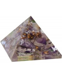 Amethyst Crown Chakra Orgone Pyramid All Wicca Store Magickal Supplies Wiccan Supplies, Wicca Books, Pagan Jewelry, Altar Statues