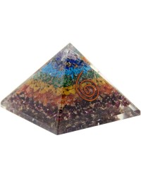 7 Chakras Orgone Pyramid All Wicca Store Magickal Supplies Wiccan Supplies, Wicca Books, Pagan Jewelry, Altar Statues