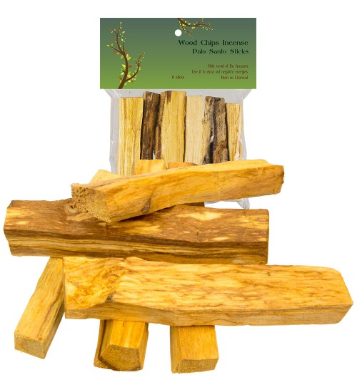 Palo Santo Wood Incense Sticks - 2 oz at All Wicca Magickal Supplies, Wiccan Supplies, Wicca Books, Pagan Jewelry, Altar Statues