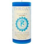 Throat Chakra Blue Pillar Candle