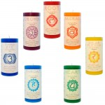 Chakra Pillar Candles - Set of 7