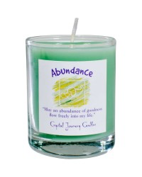 Abundance Soy Glass Votive Spell Candle All Wicca Store Magickal Supplies Wiccan Supplies, Wicca Books, Pagan Jewelry, Altar Statues