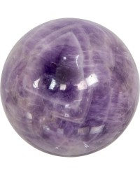 Amethyst Gemstone Sphere for Serenity
