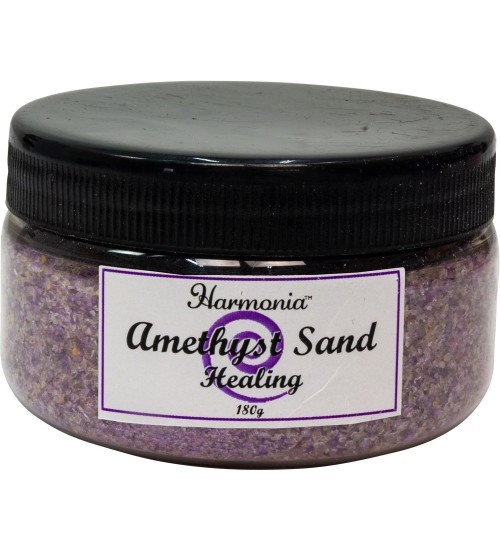 Amethyst Gemstone Sand for Healing at All Wicca Store Magickal Supplies, Wiccan Supplies, Wicca Books, Pagan Jewelry, Altar Statues