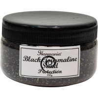 Black Tourmaline Gemstone Sand for Protection