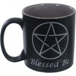 Blessed Be Pentacle Ceramic Mug
