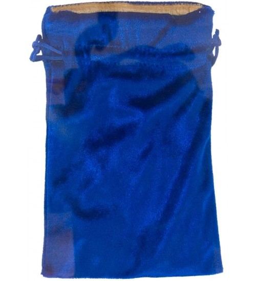 Blue Velvet Lined Pouch at All Wicca Store Magickal Supplies, Wiccan Supplies, Wicca Books, Pagan Jewelry, Altar Statues