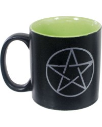 Pentacle Ceramic Mug All Wicca Store Magickal Supplies Wiccan Supplies, Wicca Books, Pagan Jewelry, Altar Statues