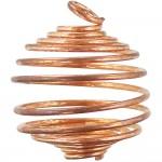 Copper Gemstone Holder Pendant
